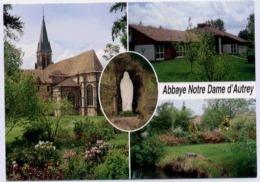 AUTREY  ABBAYE NOTRE DAME D'.... COURS AGNES DE LANGEAC CARTE MULTIVUES - Other Municipalities