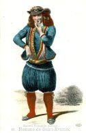 N°59684 -cpa Ancien Costumes Bretons -homme De Saint Evarzec- - Costumi