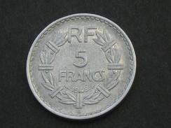 5 Francs 1948 B - LAVRILLIER - Monnaie Rare !!! *****  EN ACHAT IMMEDIAT  ***** - France