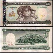 Eritrea 5 Nakfa 1997 UNC - Erythrée