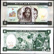 Eritrea 1 Nakfa 1997 UNC - Eritrea