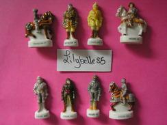 Serie Complète De 10 Feves En Porcelaine LES ARMURES DES ROIS DE FRANCE I 2004 ( Feve ) - Histoire
