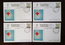 Thailand Postcard Stamp 1984 Red Cross (4) - Thailand