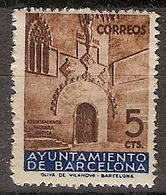 Barcelona 13 ** Puerta Gotica. 1936 - Barcelone