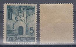 Barcelona 20 ** Puerta Gotica. Sin Número De Control. 1938 - Barcelone