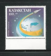 KAZAKISTAN - 1993 - VALORE NUOVO S.T.L. - EMISSIONE: LA POSTA COSMICA - IN OTTIME CONDIZIONI. - Kazakistan
