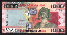SIERRA LEONE : 1000 Leones - 2013  - UNC - Sierra Leone