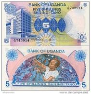 UGANDA       5 Shilingi       P-10       ND (1979)       UNC - Uganda