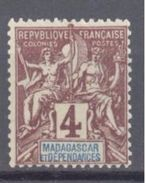 Madagascar: Yvert N° 43**; MNH; Cote 4.35€ - Madagascar (1889-1960)