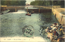 Caen, Vue Sur L'orne - Caen