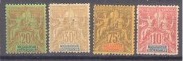 Madagascar: Yvert N° 34-36-39-43*; Cote 33.50€ - Madagascar (1889-1960)