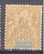 Madagascar: Yvert N° 36*; Cote 11.50€ - Madagascar (1889-1960)