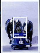 JO NAGANO 1998 BOB   GUYANA - BLOC NEUF REF950  - MINT SHEETS ** Sans Charniere - Winter 1998: Nagano