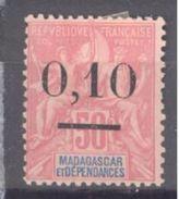 Madagascar: Yvert N° 53*; Type II; Cote 9.00€ - Madagascar (1889-1960)