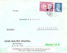 TURKEY , EARLY OTTOMAN SPECIALIZED FOR SPECIALIST, SEE....Brief Von Istanbul Nach Bielefeld - 1921-... Republik