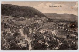 """1917, """" Geislingen A. St.  """"    , A49 - Geislingen"""