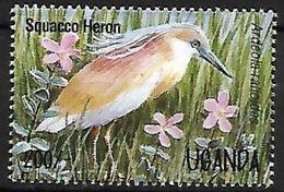 Uganda -1995 - MNH - Squacco Heron (Ardeola Ralloides) - Vogels