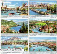 Chromo Liebig Sang. 1640 ITA Città Della Svizzera ANNO 1956 - Liebig