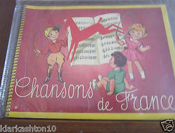 """Album Chocolat Poulain """"Chansons De France"""" Vierge - Livres, BD, Revues"""