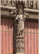 Cathedrale D'Amiens (XIIIe S.) - La Vierge Dorée  -   VIERGE  /  MADONNA / VIRGIN - Maagd Maria En Madonnas