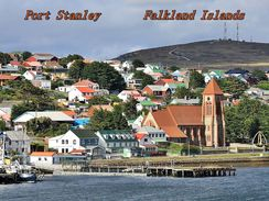 Port Stanley Falklandinsel - Falkland