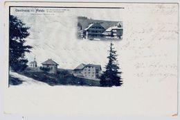 """1901, """" Gasthaus Zur Halde """"  (Schauinsland)  , A69 - Sonstige"""