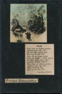 1927 Latvia Patriotic Postcard - Latvia