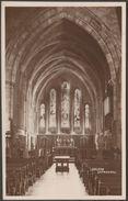 Brecon Cathedral, Breconshire, 1933 - Jackson RP Postcard - Breconshire