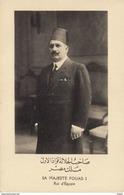 Sa Majesté Fouad I - Roi D'Egypte - Persons