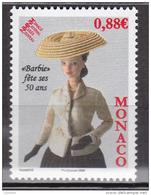 Monaco - 2009 -   Poupée Barbie - N° 2667      - Neuf ** - MNH - Neufs