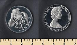 British Virgin Islands 25 Cents 1974 - British Virgin Islands
