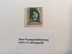 Deutsches Reich Amerikanische Propagandafälschung 1944 Michel 18b FÄLSCHUNG FAUX FORGERY (propagande) - Allemagne