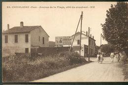 Avenue De La Plage, Côté Du Couchant - Cavalaire-sur-Mer