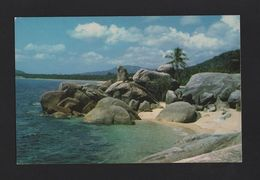 - POSTCARD 1970 Years KOH SAMUI ISLAND  BEACH LANDSCAPES- SEASCAPES THAILAND - Postcards