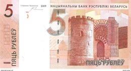 Belarus - Pick 37 - 5 Rubles 2009 - 2016 - Unc - Belarus