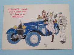 ALLANCHE Cantal - Foire A La Brocante ( Patrick Hamm ) Anno 1985 ( Zie Foto Voor Details ) !! - Bourses & Salons De Collections