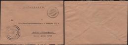 Germany - WWII, SS FELDPOST Cover. Blind Postmark To BERLIN Wimersdorf 17.10.1943. - Deutschland