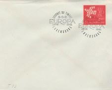 1961 Luxembourg EUROPA STAMPS 5th ANNIV  EVENT COVER - Europa-CEPT