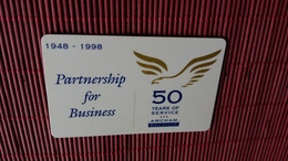 Sracth & Phone Partnership For Bussiness 500 BEF 2 Scans Used Very Rare - [2] Prepaid & Refill Cards