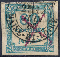 France Postage Due 1859 60c - Taxes