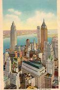 - THE FINANCIAL CENTER OF THE WORLD, NEW YORK CITY. - Scan Verso - - World Trade Center