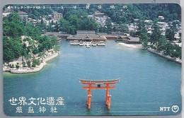 JP.- Japan, Telefoonkaart. Telecarte Japon. - Landschappen