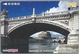 JP.- Japan, Telefoonkaart. Telecarte Japon. KANSAI. BRUG. - Telefoonkaarten