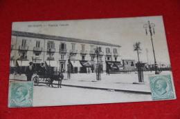 Messina Piazza Cairoli 1916 + Timbro Di Arrivo Weltevreden + Bella Animazione - Messina