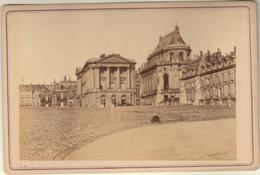 CHATEAU DE VERSAILLES  - TIRAGE ALBUMINE COLLE SUR CARTON FORT 16,5x11 Cms - Photos