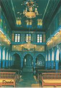 CPM 10X15 . JUDAICA . TUNISIE . DJERBA . Intérieur De La GHRIBA ( Synagogue ) N°1 - Giudaismo