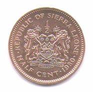 Sierra Leone 1/2 Cent 1980 - Sierra Leone
