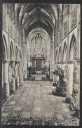 Carte Postale Ancienne De L'Intérieur L'église St. Rombart ( Cathédrale ) VINTAGE POSTCARD OF THE INTERIOR CHURCH ST. RO - Remicourt