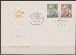 DDR FDC1969 Nr.1481 - 1482 Walter Ulbricht ( D 1536 ) Günstige Verandkosten - FDC: Briefe