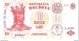 Moldova - Pick 10g - 10 Lei 2013 - Unc - Moldavie
